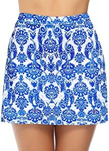 falda azul golf
