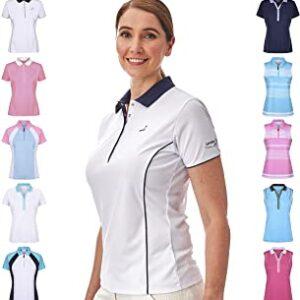 Under Par Golf Sleeved & Sleeveless Polo para Mujer